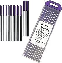 TIG Welding Tungsten Electrodes Rare Earth Blend -Purple Assorted Tungsten 5PCS 3/32