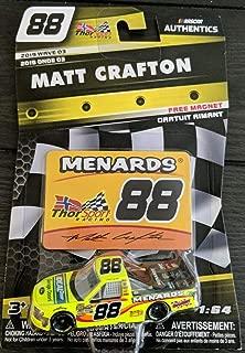 nascar Authentics 1:64 Matt Crafton 88 Menards Truck Diecast Wave 03