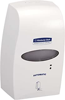 "Kimberly Clark Professional Electronic Touchless Cassette Skin Care Dispenser (92147), 7.25"" x 11.5"" x 4.0"", 1.2 Liter, White, 1 / Case"