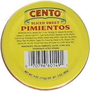 Cento Sliced Pimentos, 4 Ounce (Pack of 12)