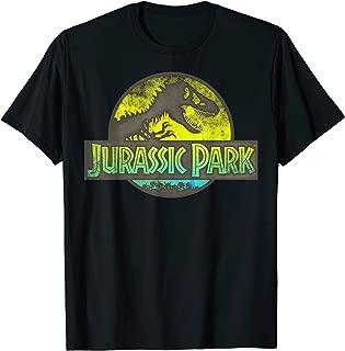 Neon Yellow Green Safari Logo Graphic T-Shirt