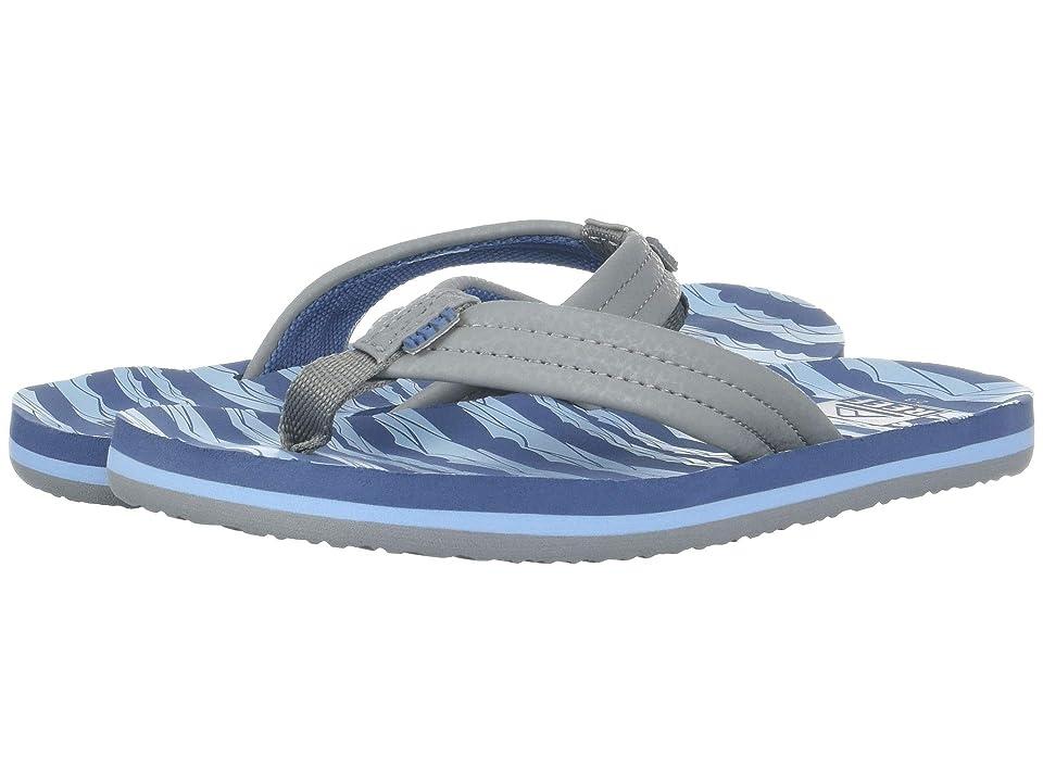 Reef Kids Ahi (Little Kid/Big Kid) (Blue Grey Ocean) Boys Shoes