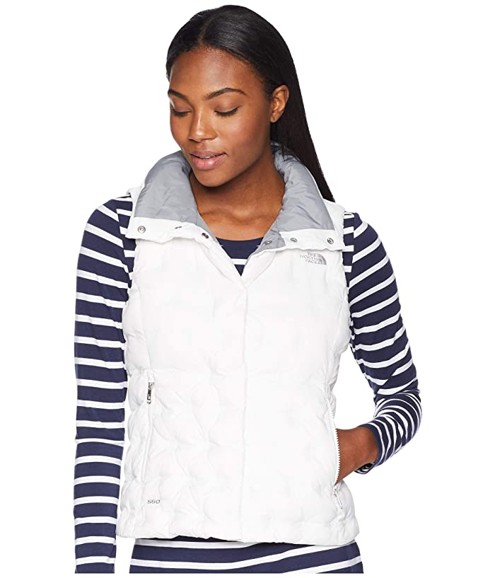 The North Face Holladown Crop Vest (TNF White) Women