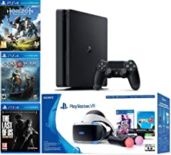 2019 Playstation 4 Slim PS4 1TB Console + Playstation VR Headset + Playstation Camera + Playstation VR Move Controllers + ...