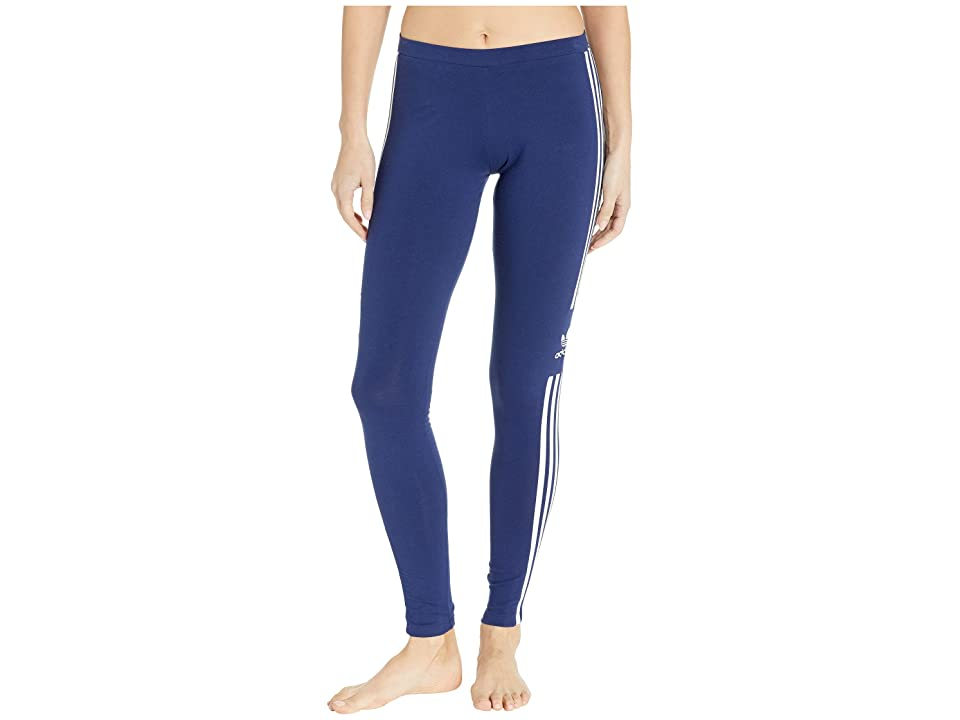 adidas Originals Trefoil Tights (Dark Blue) Women