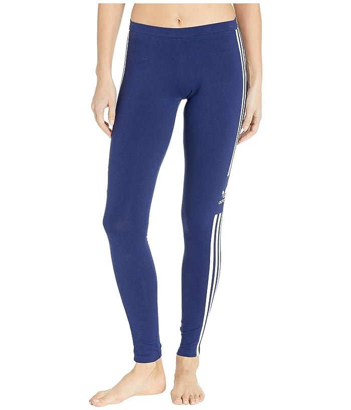 adidas Originals Trefoil Tights (Dark Blue) Women
