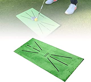 Golf Training Mat for Swing Detection Batting Golf Practice Training Aid Game,Putting Practice Equipment Indoor and Outdoor