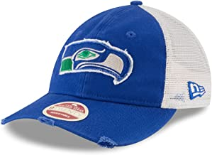 New Era Seattle Seahawks NFL 9Twenty Historic Frayed Twill Mesh Back Hat