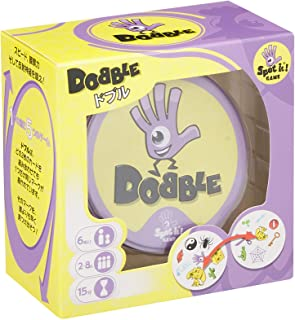 ホビージャパン ドブル (Dobble) 日本語版 (2-8人用 15分 6才以上向け) ボードゲーム