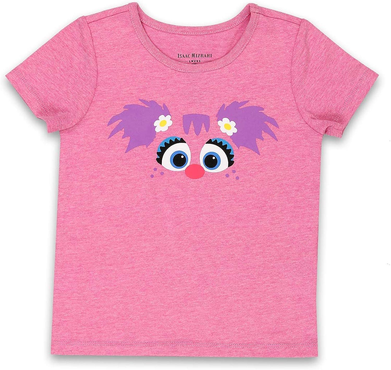 Isaac Mizrahi Loves Sesame Street Abby Cadabby Toddler Baby Short Sleeve Tee (18 Months, Pink)