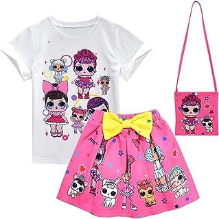 Girl T-Shirt Short Sleeve LOL Girls Childrens Surprise...