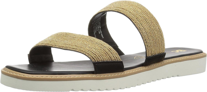 BC Footwear Womens Grand Prize Flat Sandal