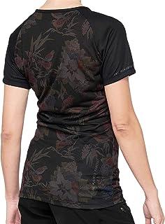 100% Airmatic shirt dames zwart 2021 fietsshirt korte mouwen