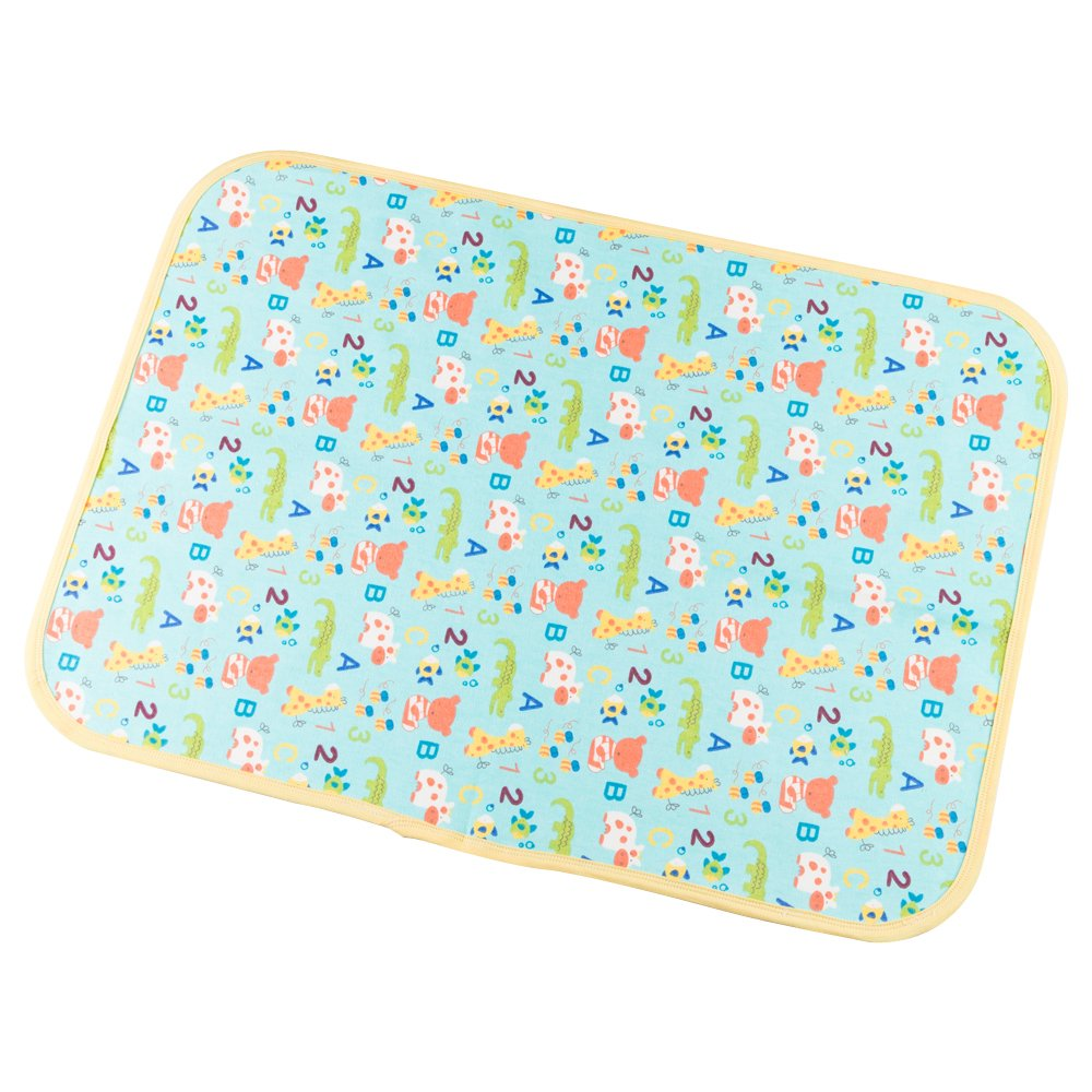 Babyfriend Portable Changing Pad Waterproof Diaper Change Pad Multi-Function Travel Changing Mat for Infant Baby Girls Boys