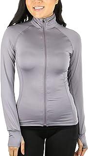 ToBeInStyle Women's Long Sleeve Full Zip-Up Track Jacket/Pants