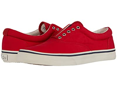 Polo Ralph Lauren Thorton V (Red Washed Canvas) Men