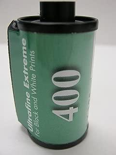 10 Rolls Ultrafine Xtreme Black & White 35mm Film ISO 400 24 Exposure