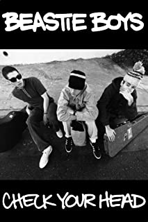 Buyartforless Beastie Boys-Check Your Head 1992 Album 36x24 Music Band Print Poster Decorative Art, Wall Décor, Black, White Gray