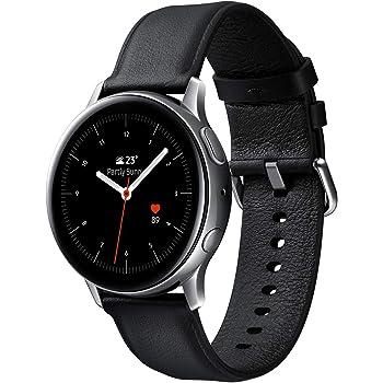 Galaxy Watch Active2 / Stainless steel/シルバー / 44mm [Galaxy純正スマートウォッチ 国内正規品] SM-R820NSSAXJP