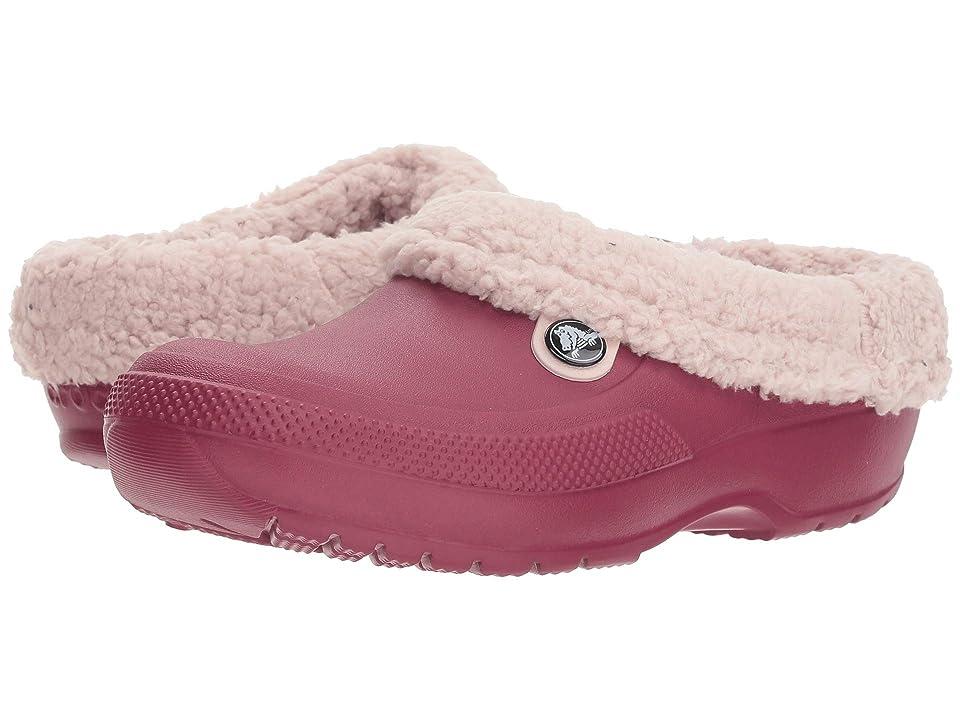 Crocs Classic Blitzen III Clog (Pomegranate/Petal Pink) Clog/Mule Shoes
