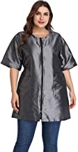 Hair Stylist Grooming Smocks for Women, Barber Apron Jacket Vest for Hair Salon, Dog Groomers, Nail Tech, Massage Therapist, Esthetician