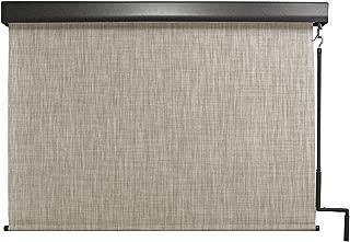 Keystone Fabrics Premium Outdoor Sun Shade, Cordless, 6-Feet by 8-Feet, Caribbean