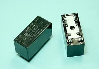 (RR #35) Omron Relay 24VDC 12A 1.44KOhm SPDT (29x12.7x15.7)mm THT Power Relay
