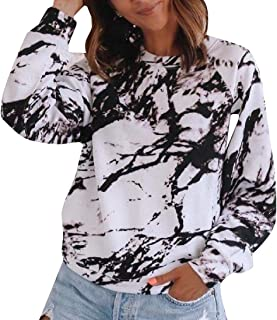 Miracle Women Autumn Loose Long Sleeve Comfy Swing Tunic Top Blouse T-Shirt Tee Pullover