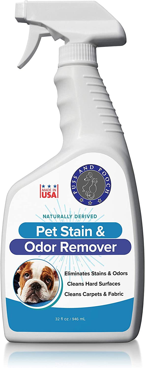 Outlet sale feature Puss and Pooch Pet Odor Popular Natural Remover Stain
