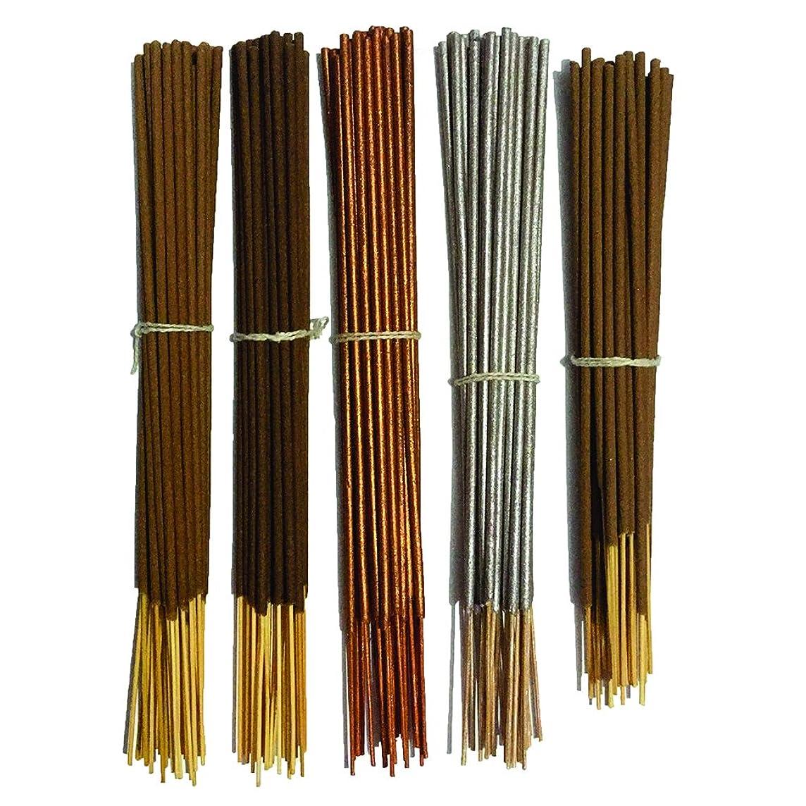 おいしい破裂ストリームInaki Incense Sticksプレミアム5?Fragrance Infused with Essential Oilsパック40?gm各?–?Natural長持ちホーム&インドアFragrance (200グラムパック)