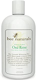Best Whitening Pre-brush Oral Rinse - Clean White Teeth Naturally - Includes Erythritol - Beautiful Smile &...