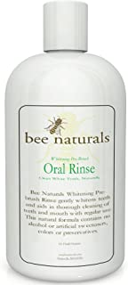 Best Whitening Pre-Brush Oral Rinse - Clean White Teeth Naturally - Includes Xylitol - Beautiful Smile & Fresh Breath - Neutralizes Odor & Germs - No Harmful Chemicals, Alcohol, Artificial Sweeteners
