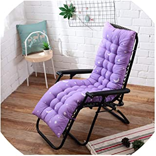 Mo Duo Long Cushion Reclining Chairs Foldable Rocking Chair Cushion Garden Chair Cushion Window Floor Mat Multicolor Optional,2,53x53cm