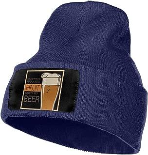 100/% Acrylic Beanie Hat Vintage USA Ukraine Flag Warm Knitting Hat Mens Womens