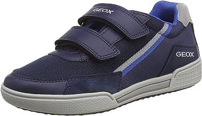 Geox Boy's J Poseido F Low-Top Sneakers