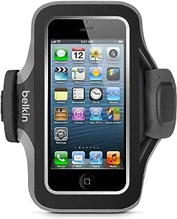 Belkin Slim-Fit Plus Armband for iPhone 5 / 5S / 5c / SE (Black/Gravel)