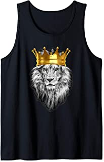 KING CROWNED LION !! Super HOT Design by Kopa21 Designs ! Tank Top