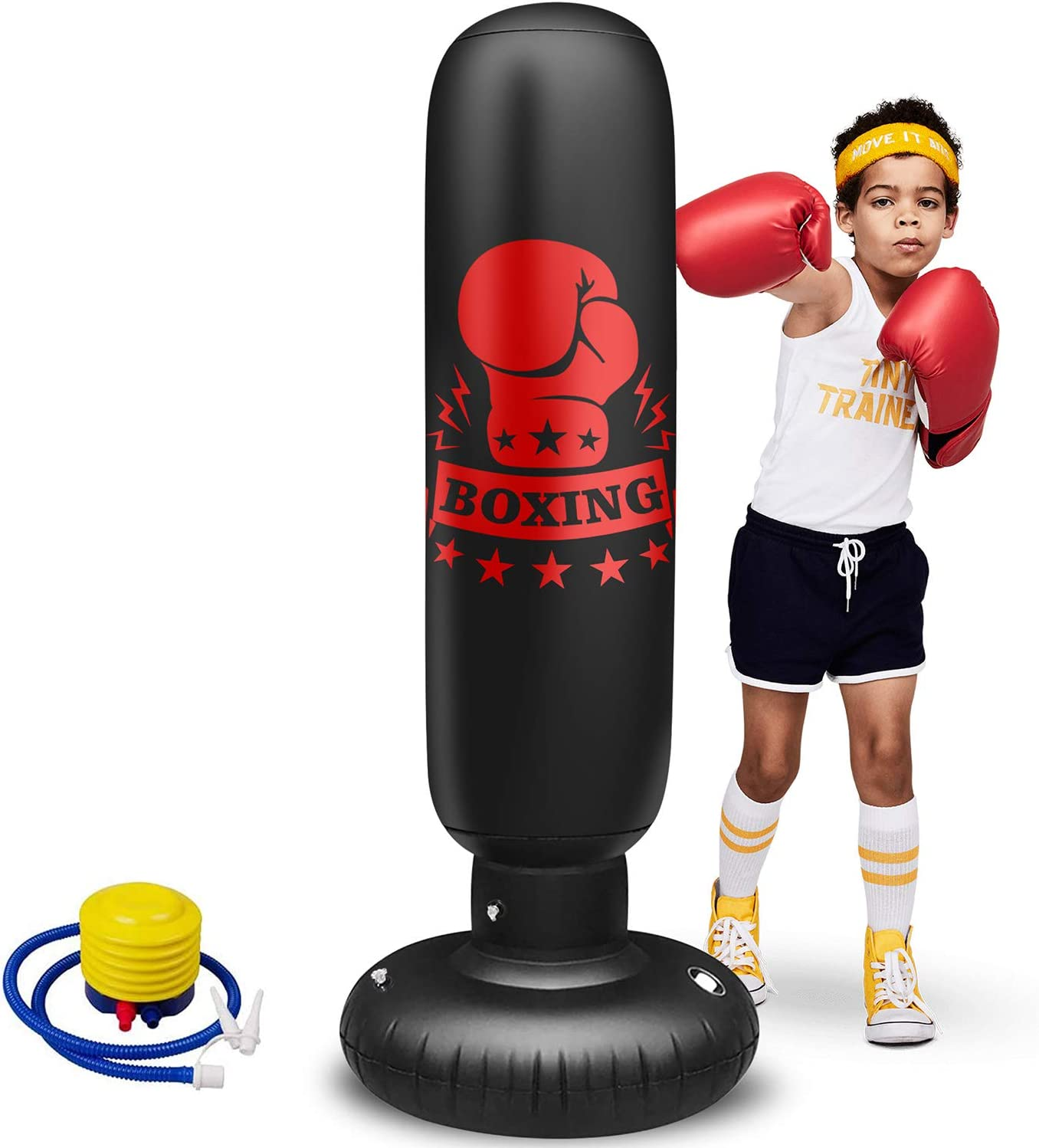 Punching shop Bag with Stand Kids for Teens Discount mail order Inflatable