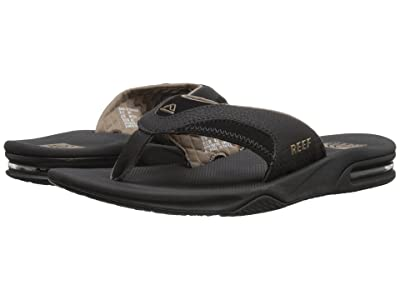 Reef Fanning (Black/Brown) Men