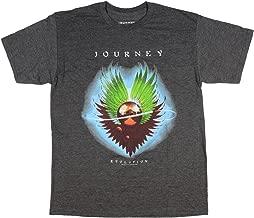Journey Evolution T Shirt Men's Charcoal Heather Rock Band Fan Tee
