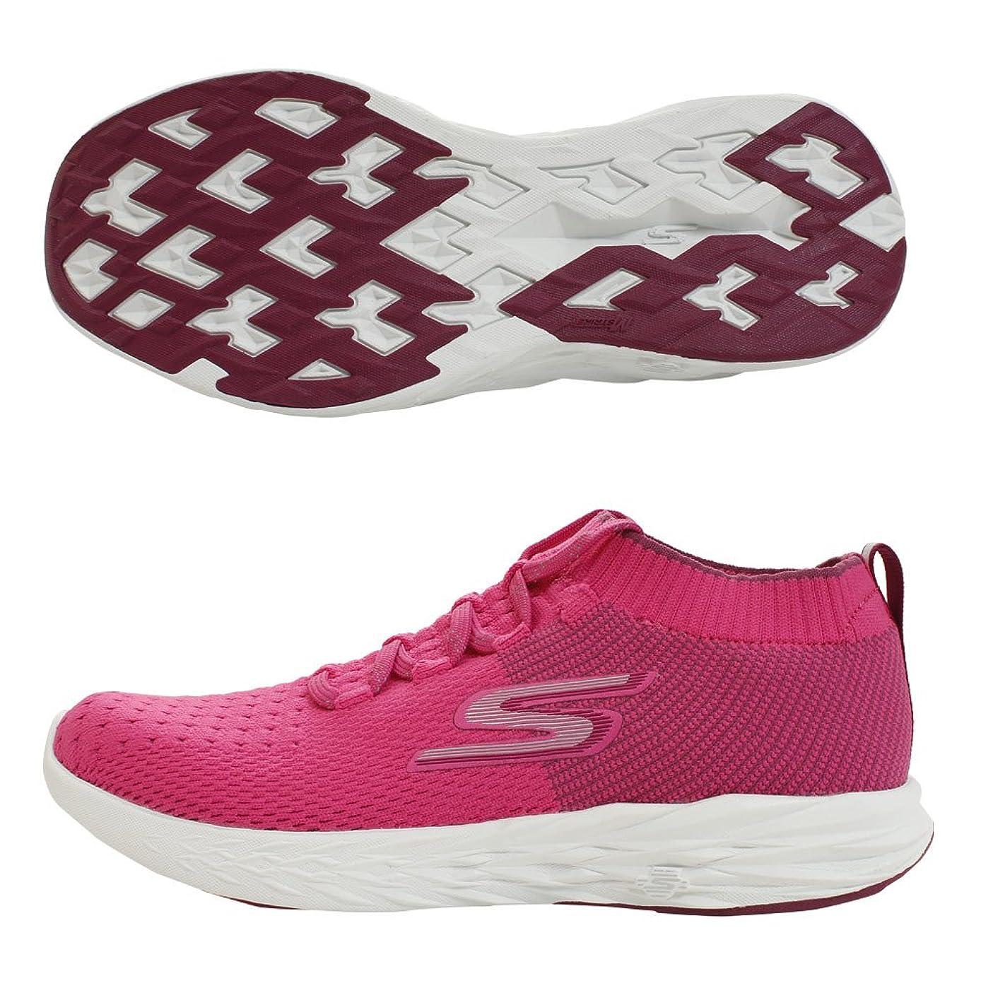 聴くスイ欺く[スケッチャーズ] レディース 女性用 シューズ 靴 スニーカー 運動靴 GOrun 6 - Pink [並行輸入品]