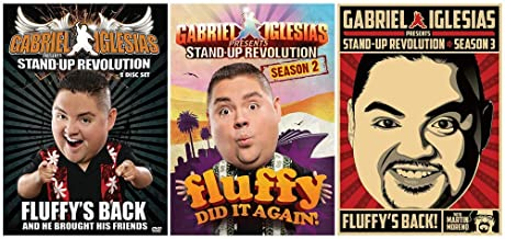 Gabriel Iglesias Presents Stand Up Revolution: Complete TV Series Seasons 1-3 DVD Collection