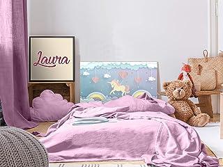 Cabecero Cama Pegasus Infantil Unicornio Color 115x60cm | Disponible en Varias Medidas | Cabecero Ligero, Elegante, Resistente y Económico