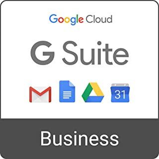 G Suite Business | Monthly Subscription with Auto-renewal | includes Business Gmail, unlimited Drive storage, Docs, Calendar, and more
