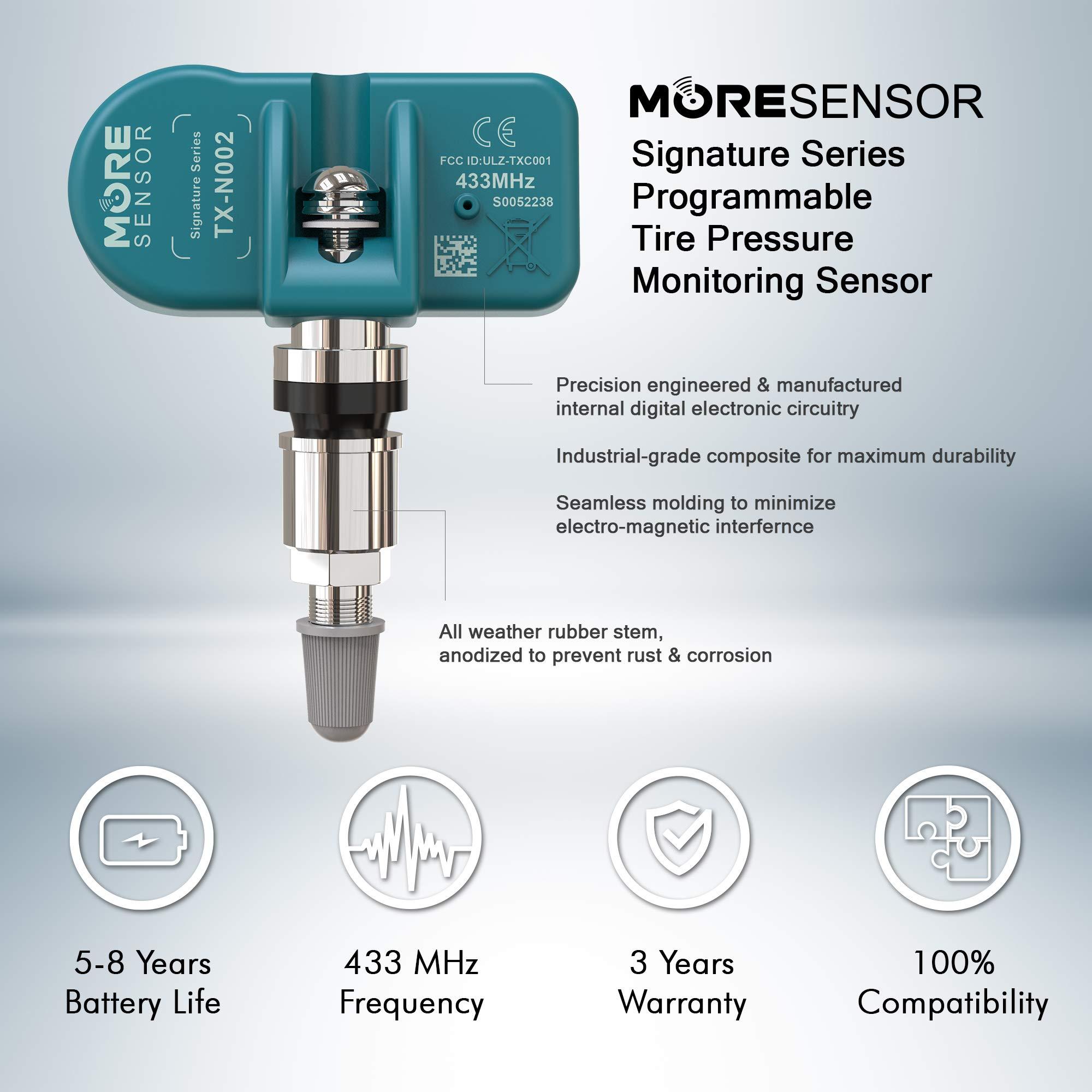 TX-S045 433 MHz MOBILETRON DuroSense MORE TPMS Sensor Clamp-in Tyre pressure monitoring sensor