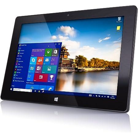 "10"" Windows 10 Fusion5 FWIN232 Plus S1 Ultra Slim Tablet Computer - (4GB RAM, USB 3.0, Intel, 5MP and 2MP Cameras, Windows 10 S Tablet PC)"