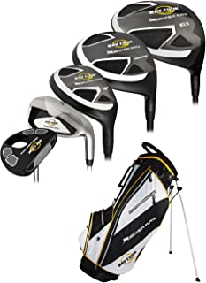 Golf LH Silver Ray Complete Set with Bag Graphite/Steel (Left Handed)