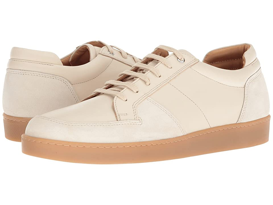 WANT Les Essentiels Lydd Gum Sole Sneaker (Bone/Bone Suede) Men