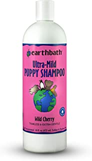 Earthbath Natural Ultra Mild Puppy Tearless Shampoo with Baby Fresh Cherry Scent, 16Oz