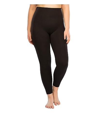 Spanx Plus Size Look at Me Now Seamless Leggings (Very Black) Women